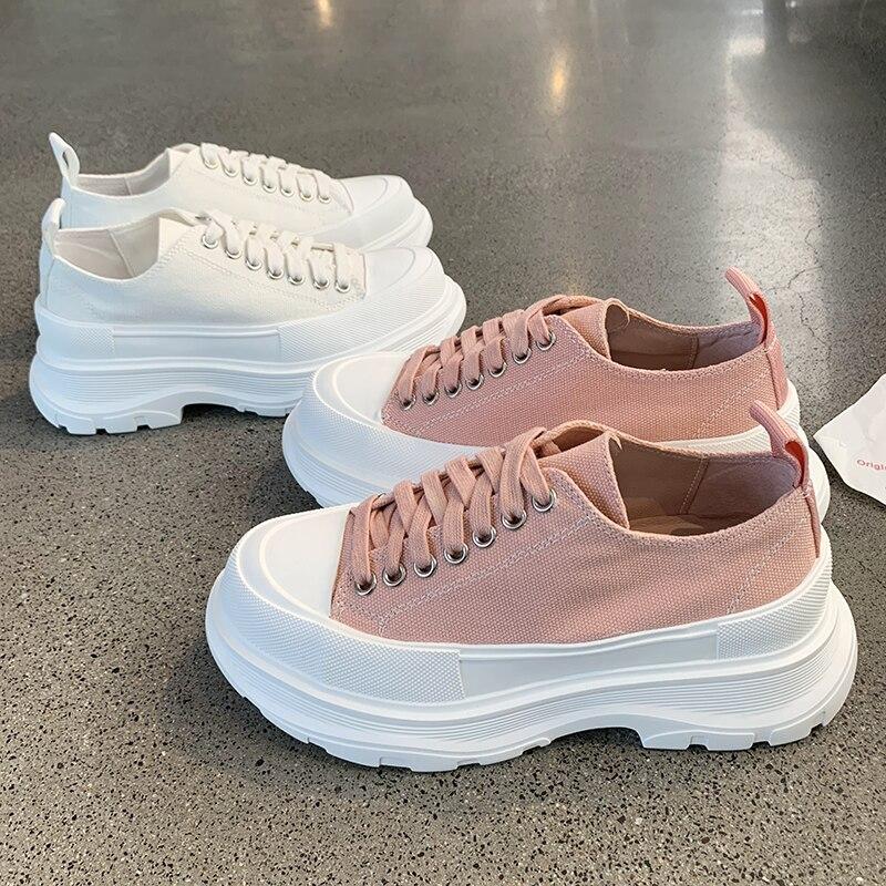 Zapatillas de deporte para mujer, Zapatos Beige negro de diseñador, zapatillas gruesas informales cómodas para mujer, zapatos de moda ligeros para papá, calzado con plataforma para mujer GOGC 2020, zapatos de mujer de primavera, zapatos de plataforma para mujer, zapatillas gruesas, zapatillas, zapatos informales para mujer, zapatillas para mujer G6802