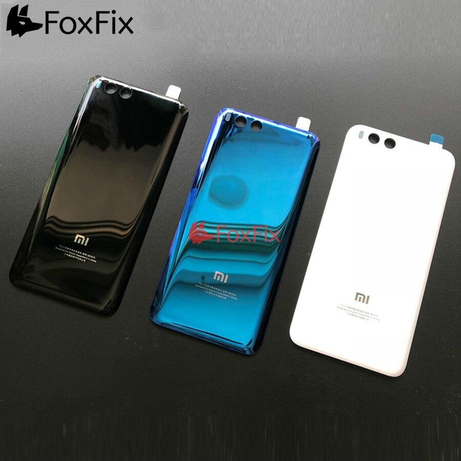 Новинка, Крышка батарейного отсека для Xiaomi Mi 6, заднее стекло Mi6, задняя крышка корпуса, Задняя панель для Xiaomi Mi 6, Крышка батарейного отсека на...