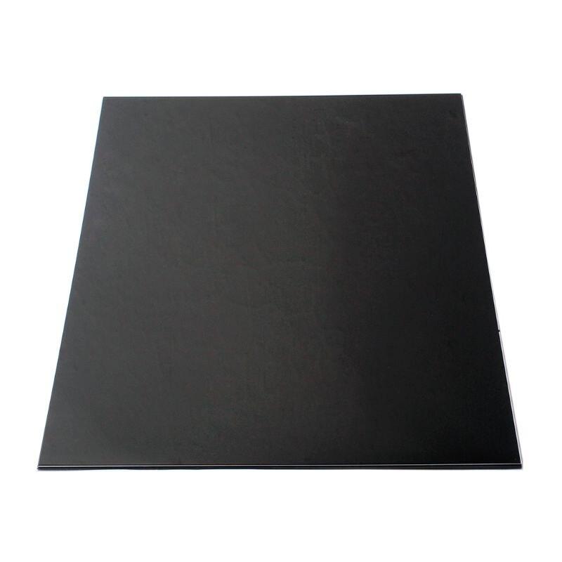 Plastic 3ply Guitar Body Blank Scratch Plate Pickguard Sheet Black