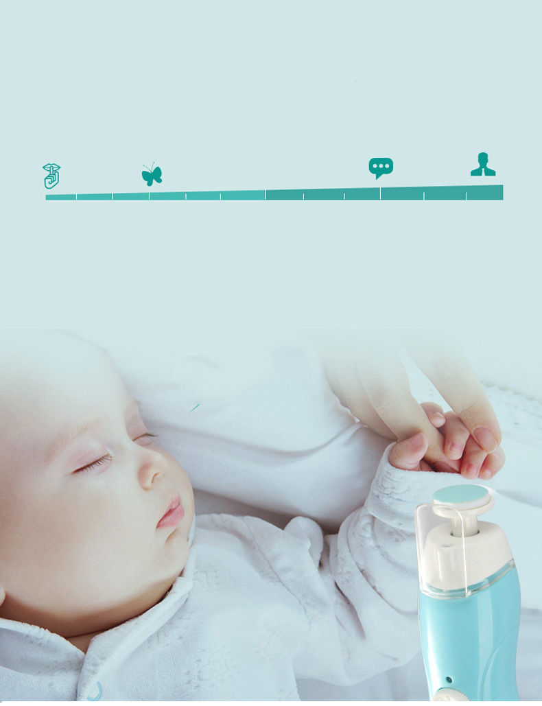 9-In-1 Multi-function Baby Nail Clipper   Moon Discount