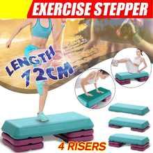 Fitness aerobik krok 3 poziom regulowany antypoślizgowy Cardio joga pedał krokowy siłownia do treningów i ćwiczeń Fitness aerobik krok sprzęt