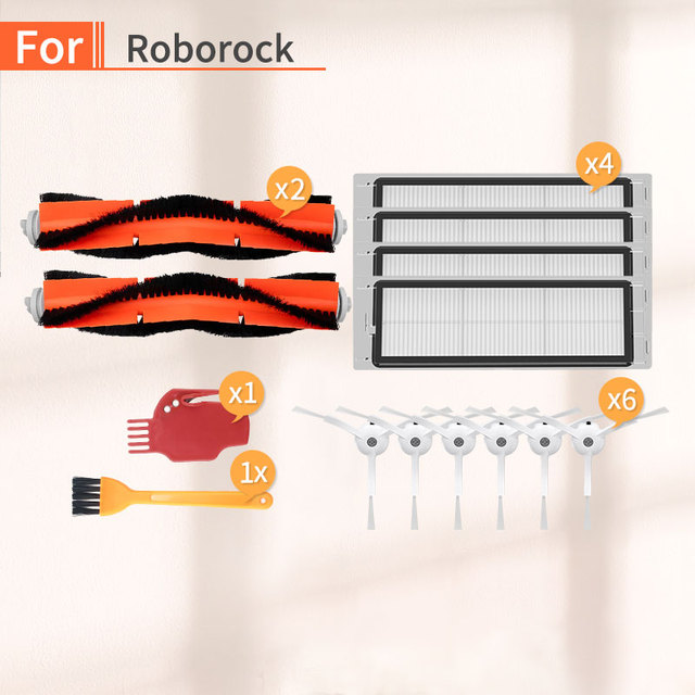 ロボット掃除機のフィルターhepa家庭用アクセサリーxiaomi mijia mi 1s 2s roborock s6 s50 s55スペア部品ホーム