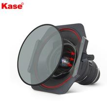 Kase Soporte de filtro magnético cuadrado K150P de aluminio, 150mm, con CPL redondo MCUV ND1.8 para Nikon 14 24mm f/2,8G ED