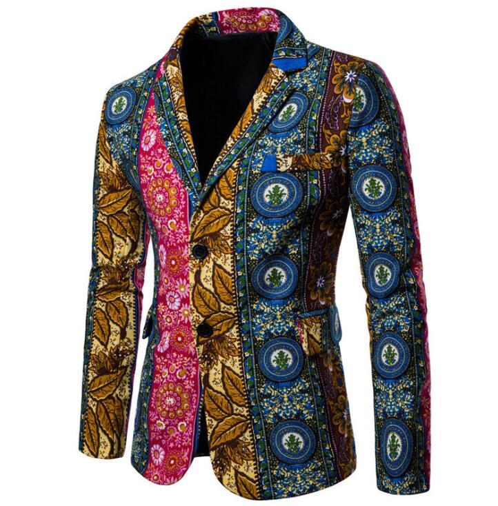 Autumn winter suits men blazer folk-custom masculino slim fit casaco jaqueta masculina coats mens jacket