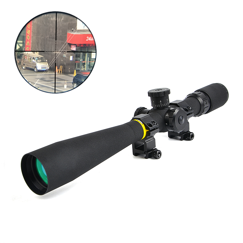 BSA OPTICS 8-32x44 AO Hunting Mil-Dot Rifle Scope Side wheel Focus Parallax Adjustment Riflescope Front Sight For Sniper Rifle(China)