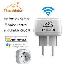 Timethinker Smart Home WiFi Socket for Apple Homekit US EU Plug Alexa Google Voice Control Timer Module New Version