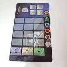 60X35 cm yüksek kaliteli kauçuk Playmat Splendor kurulu GameCustomize Splendor oyunu Playmat