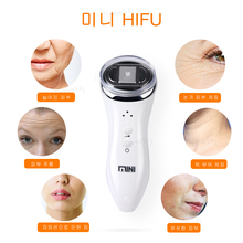 Ultrasonic RF Radio Frequency Lifting Face Neck Skin Massager Mini Hifu Anti Wrinkle Tightening Face Slimming Device