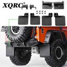 XQRC المطاط الأمامي والخلفي واقيات الطين ل 1 / 10 RC تتبع السيارة traxxas trx-4 trx4 المدافع اكسسوارات السيارات