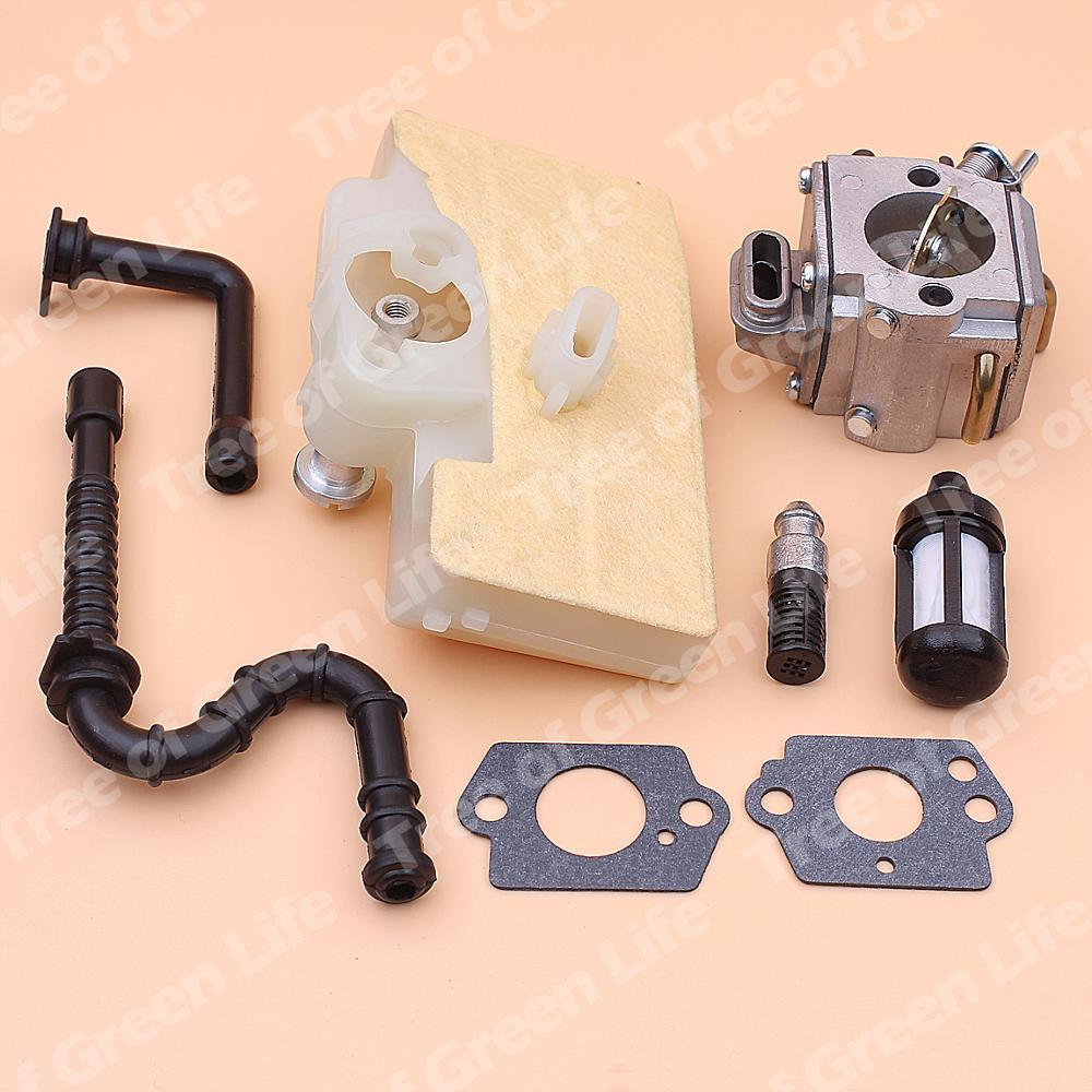 Tools : Carburetor Carb For Stihl MS390 MS290 MS310 039 029 Air Fuel Oil Filter Line Hose Chainsaw 1127 120 0650