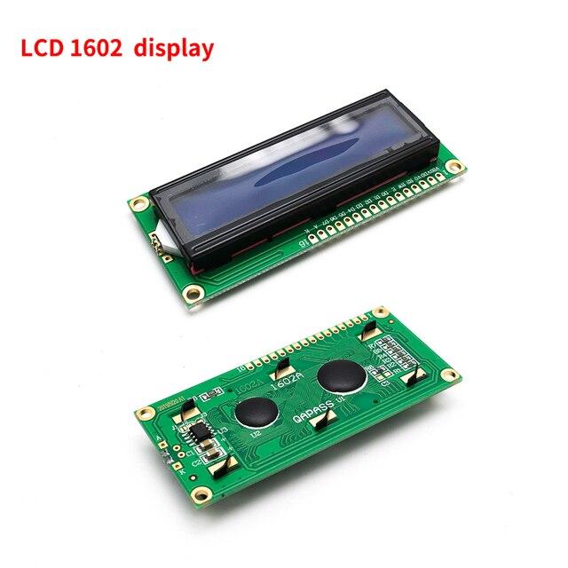 LCD display LCD1602 module Blue screen 1602 i2c LCD Display Module HD44780 16x2 IIC Character 1602 5V for arduino lcd display 4