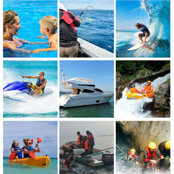 Adults Life Jacket Aid Vest Kayak Ski Buoyancy Fishing Boat Watersport Suitable for water sports enthusiasts, surfing, boating