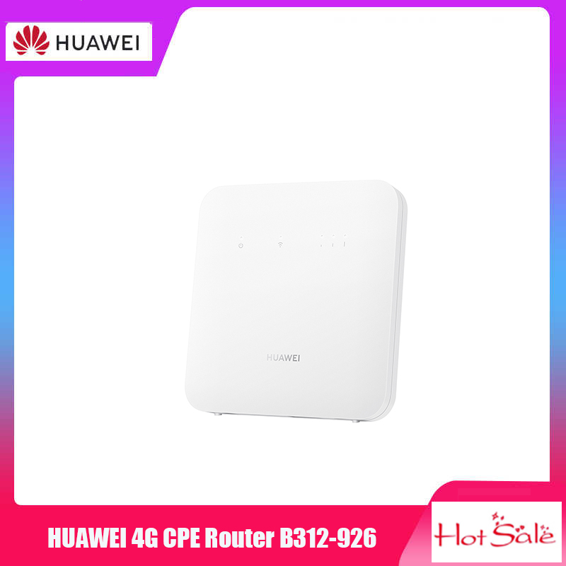 HUAWEI 4G CPE router 2s B312-926 Support VPN Multi-language 300 Mbps LTE 150 Mbps