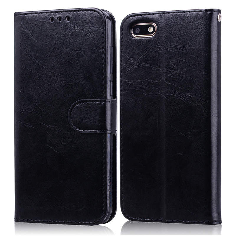 Huawei Y5 2018 Case on for Huawei Y5 Prime 2018 case Leather Wallet Flip Case For Huawei Y5 Lite 2018 Cover Phone Cases