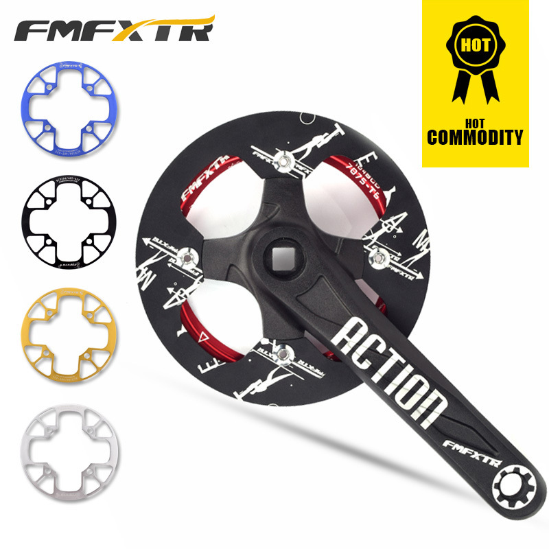 Mountain Bike Sprocket Protector 104BCD 32T 36T 40T Crank Protection Cover Bicycle Crankset Guard Chainwheel Protective Gear