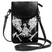 Bolso de hombro de estado de descomposición, bolso de cuero Feral de viaje, bolsas de moda para mujer, bolso delgado con patrón de alta calidad
