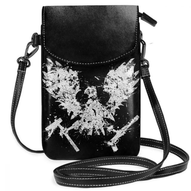 State Of Decay Shoulder Bag State Of Decay Feral Leather Bag Travel Trendy Women Bags High quality Pattern Slim Purse