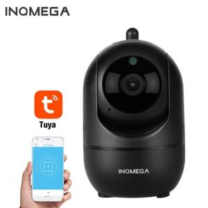 INQMEGA-cámara IP TUYA 1080P, Wifi, sistema de vigilancia de seguridad, Monitor de bebé, visión nocturna, Cloud International