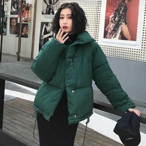 Image 3 - Rivestimento di Inverno di autunno Delle Donne del Cappotto di Moda Femminile Del Basamento Donne Giacca Invernale Parka Caldo Casual Plus Size Giacca Cappotto Parka Q811