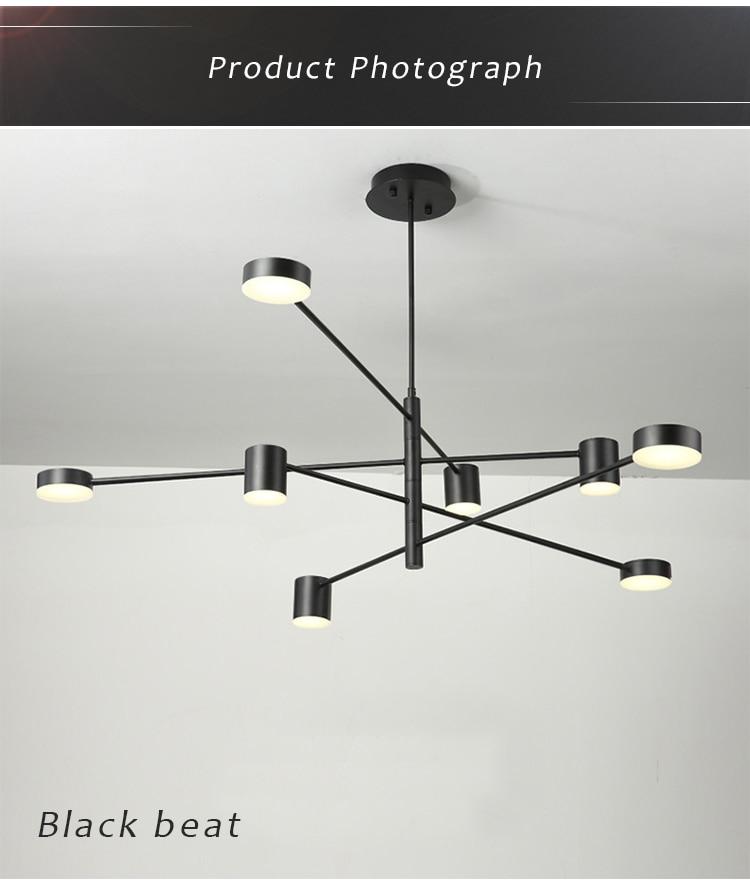 lustre luz da lâmpada para sala de