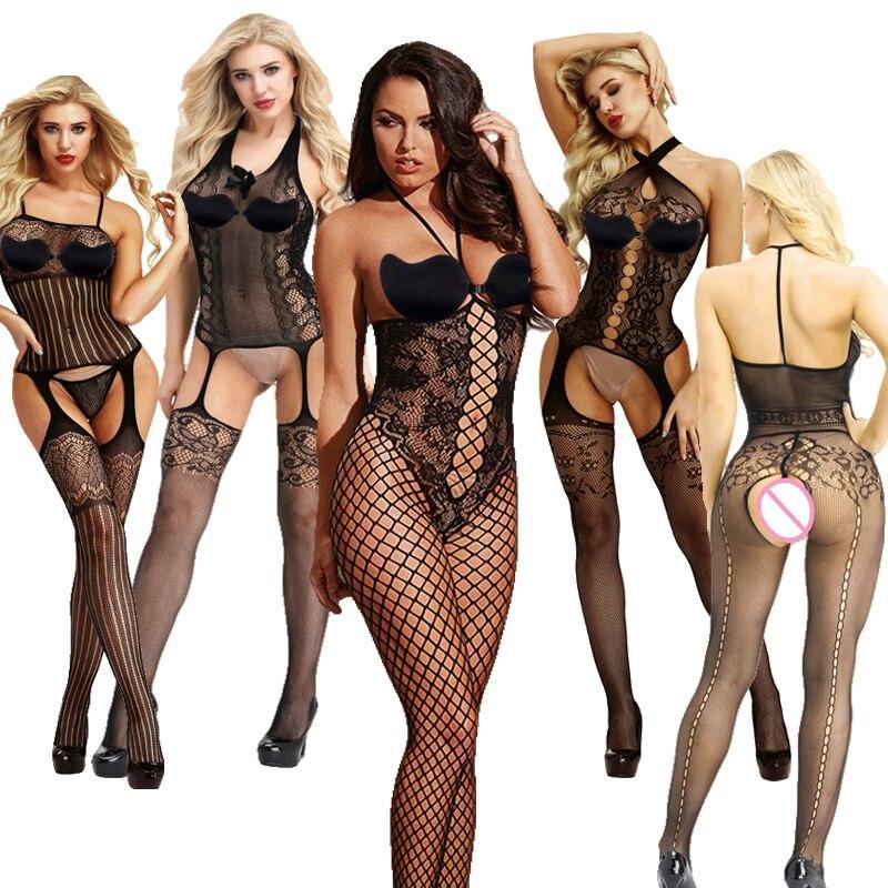 Sexy Lingerie Porno Sexy Costumes Erotic Langerie Tenue Sexy Femme Erotique Lenceria Mujer Transparent Plus Size Women ZH008