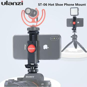 Phone Tripod Mount Hot Shoe Phone Mount Holder Phone Stand Holder for Phone Stand for Mobile Phone Accessories for Cell Phones