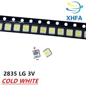 200 шт для LG светодиодный подсветка 1210 3528 2835 1 Вт 100лм холодный белый ЖК Подсветка для ТВ приложения