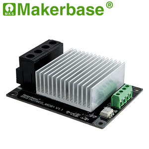 Image 2 - Makerbase  MKS MOSFET 3D printer parts heating controller for heat bed/extruder MOS module exceed 30A support big current