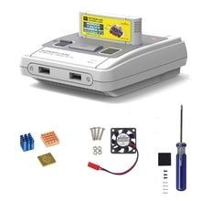 Retroflag CASE J SUPERPi con ventilador + disipador térmico para Raspberry Pi 3B Plus (3B +)/3BAccesorios de tablero de demostración