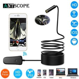 Image 3 - Antscope 1944P HD Waterproof Wifi Endoscope Camera 5.0 Megapixels Auto Focus Mini Inspection Camera Borescope for IOS/Android 24