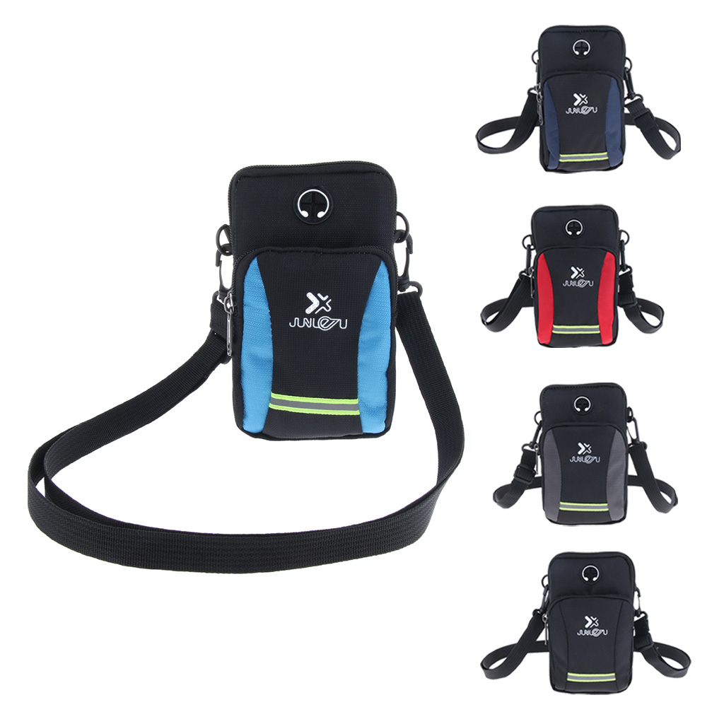 Reflective Sport Running Travel Waist Bag Crossbody Chest Day Pack Sports Chest Bag For Outdoor Spots