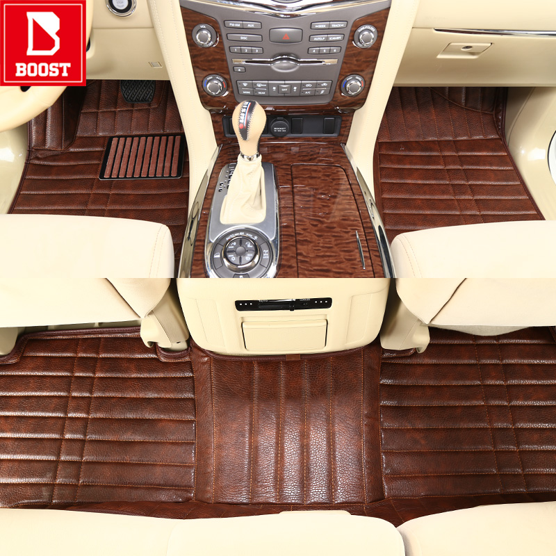 Boost Car <font><b>Floor</b></font> <font><b>Mats</b></font> For <font><b>Lexus</b></font> Gx470 Lx470 Lx570 Rx330 Rx450 Nx200T <font><b>Rx350</b></font> Waterproof Custom Automobile Auto Foot Pads image