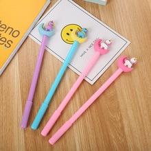 New cartoon moonlight unicorn gel pen stationery cute moon pony office supplies