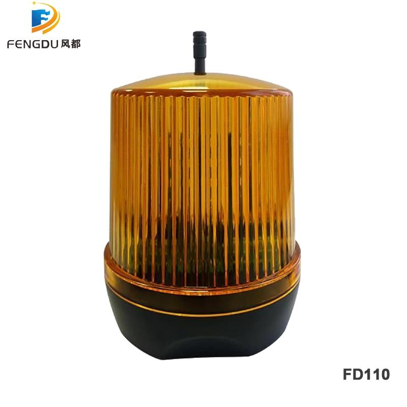 Universal 24V AC/DC 230VAC LED Signal Alarm Light Strobe Flashing Emergency Warning Lamp wall mount for Automatic Gate Opener