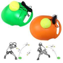 Trening tenis narzędzie ćwiczenie piłka tenisowa samokształcenie odbicie piłka z tenisówka płyta podstawowa urządzenie Sparring dropship epacket|Akcesoria do tenisa|   -