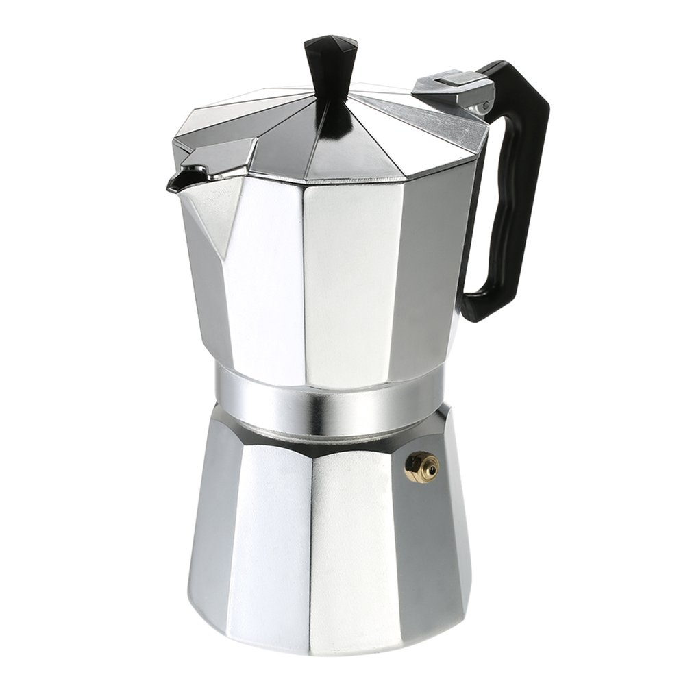Aluminum Coffee Pot 3Cup/6Cup/9Cup/12Cup Coffee Maker Espresso Percolator Stovetop Mocha Pot Electric Stove