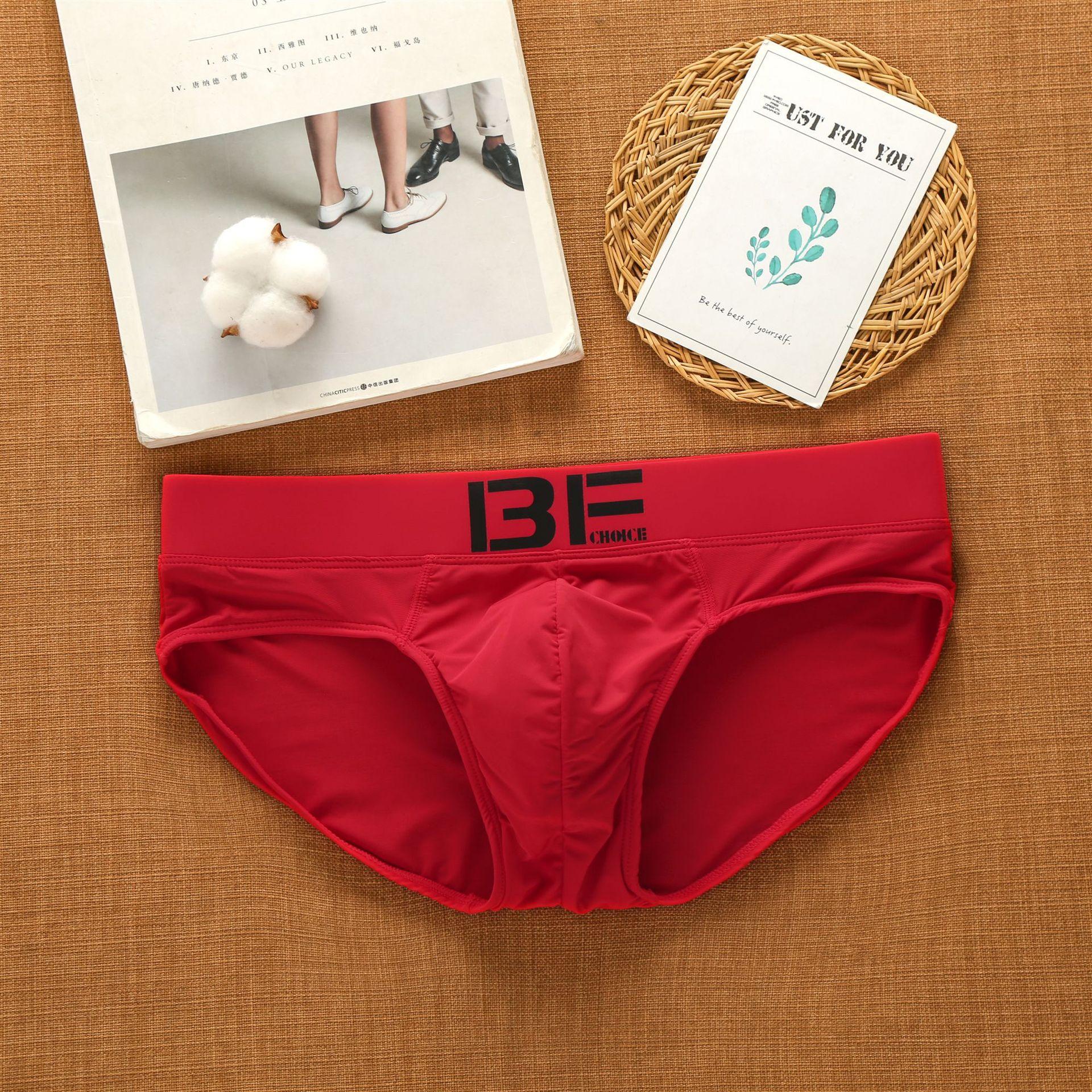 Dropshipping Men Underwear Male Underpants Pants Low Rise Men Underwear Comfortable Breathable Briefs New Men's Briefs Slip 4
