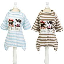 Pet clothing for Dog Warm Hooded Soft Sweater Puppy dog clothes pet T-Shirt small