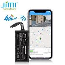 Jimi novo vl01la 4g gps tracker com wifi em tempo real rastreamento de monitoramento remoto via app pc vários alertas rastreador de carro para veículo
