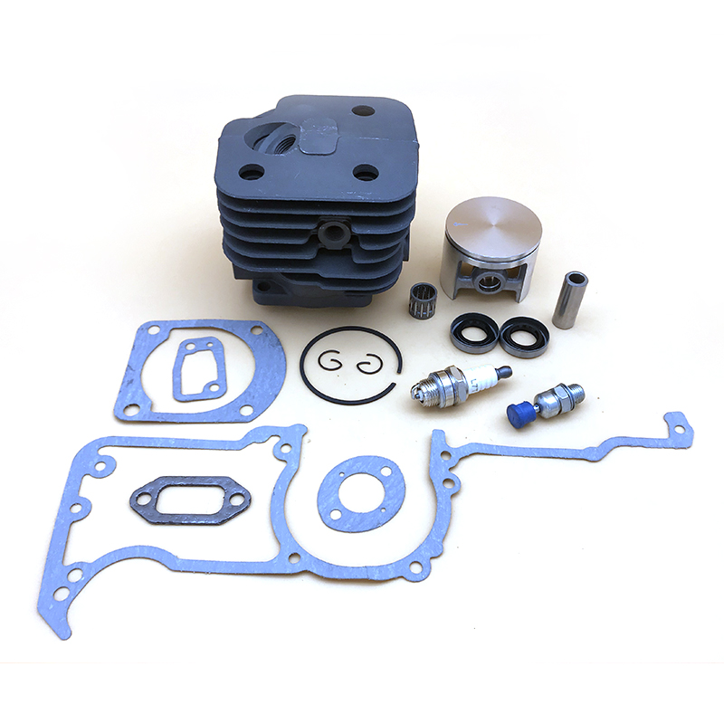 Ring HUSQVARNA Parts Cylinder Kit 52MM Piston 61 Valve Gasket 272K 272XP 268 Chainsaw 272 Seal 50MM Oil For 48MM HUNDURE