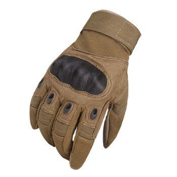 Guantes militares de dedo completo para hombre manoplas t cticas de combate SWAT de carbono