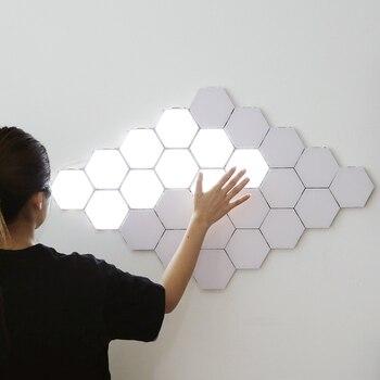 Modern led night lights quantum la