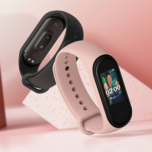 Image 2 - In Stock Xiaomi Mi Band 4 SmartBand MiBand 4 Bracelet Heart Rate Fitness tracker Bluetooth 5.0 50M Waterproof