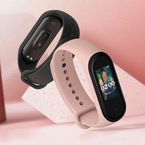 Image 2 - Xiao mi mi bande 4 SmartBand mi bande 4 Bracelet fréquence cardiaque Fitness tracker Bluetooth 5.0 50M étanche