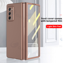 GKK – coque Ultra fine Anti coup pour Samsung Galaxy Z Fold 2 5G, Film combiné dur mat