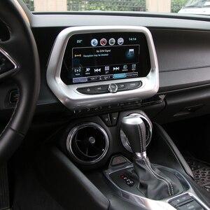 Image 5 - SHINEKA ABS 5 สีGPSนำทางแผงMediaกรอบ 8.0 นิ้ว 6th GenสำหรับChevrolet Camaro 2017 + รถจัดแต่งทรงผม