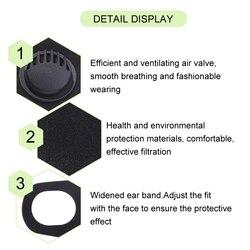 Mask Respirator Unisex FFP3 Face Mouth Masks N95 KN95 Fog Prevention Haze Anti Dust Mask FFP1 FFP2 PM2.5 Mouth Face Mask 5