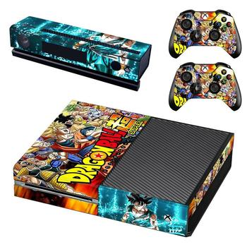 Dragon Ball Super Skin Sticker Decal Cover For Xbox One Console and Kinect and 2 Controllers For Xbox One Skin Sticker Vinyl 1