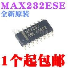 15 pçs/lote MAX232ESE MAX232 RS232 SOP16