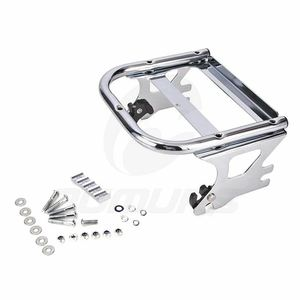 Image 4 - OUMURS Motorcycle Luggage Rack Detachable 2 up Tour Pak Pack Mount For Harley Touring Electra Street Road Glide Road King 97 08